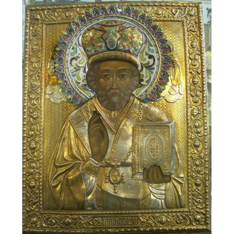 Russian Icon. Lot-m2-266