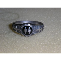 German ring. Copy.Silver.lot -4