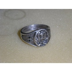 German ring. Copy.Silver.lot -1