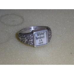 German ring. Copy.Silver.lot -2