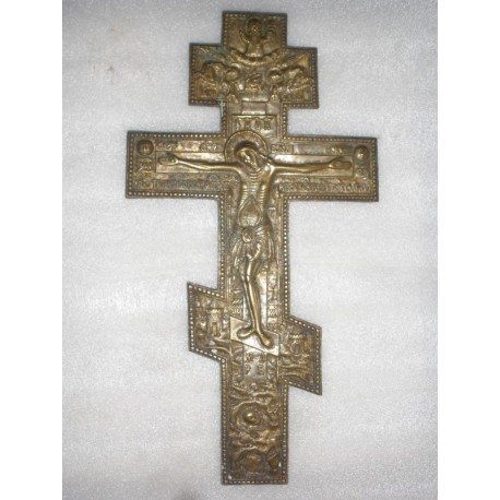 A Large kiot Cross The Crucifixion of Christ  Lot-3323k